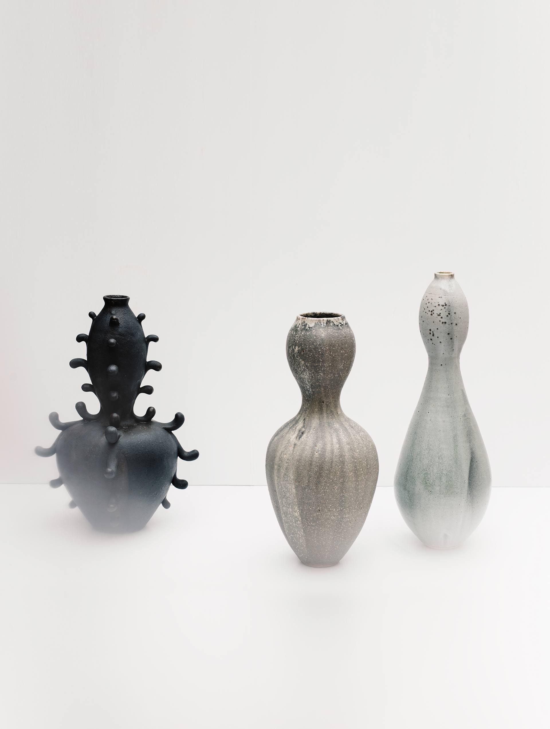 Dynasty Vase, Granite Vessel 2, Cascade Vessel, 2017